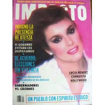Revista , Impacto, Lucia Mendez, Juan Gabriel