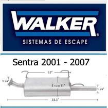Silenciador Sentra Walker 2001 - 2007 Quiet Flow Ss # 53301