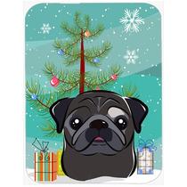 Árbol De Navidad Y Negro Amasado De Cristal Tabla De Cortar