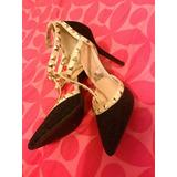 Zapatillas Con Estoperoles Talla 5.5