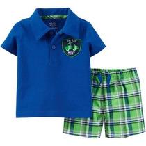 Shorts Camiseta Carters Niño Talla 3-6 Meses Envio Gratis