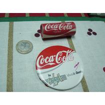 Antiguos Artículos Coca Cola Botón Prendedor