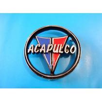 Emblema Plymouth Valiant Acapulco Para Cajuela