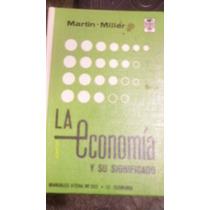 Libro La Economia Y Su Significado , Año 1967