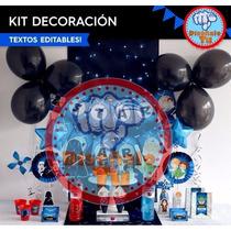 Kit Imprimible Empresarial Invitaciones Recuerdos Y Mas