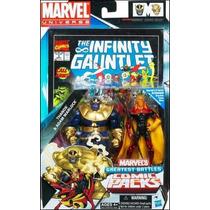 Marvel Universe Greatest Battles Adam Warlock & Thanos