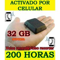Camara Espia Microfono Espia Activado Por Celular Gsm Au1