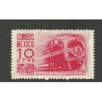 Ferrocarriles 10c Bultos Postales Nuevo Vbf