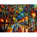 When Dreams Come - Pintura Al Óleo En Lienzo Por L Afremov
