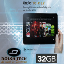 Nuevo Amazon Tablet Kindle Fire Hd 8.9 32gb Dolby Audio Wifi