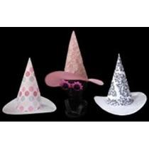 6 Sombreros Bruja Party Estampado Varios Modelos