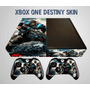 Skin Xbox One Gears Of War 4 Para Consola 2 Mandos