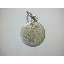 Medallita Con Grabados De Amor Plata Ley 0.925 1.6g 15mm