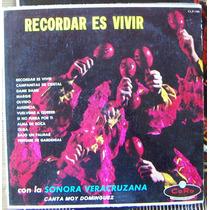Bolero, Sonora Veracruzana, Canta Moy Dominguez, Lp 12´,