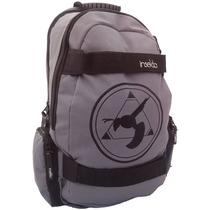Mochila Gris Skate Insekta Original Backpack