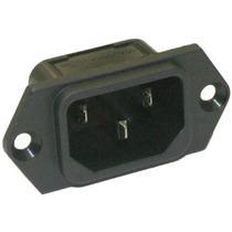 Interpower 8301213 Iec 60320 C14 Tornillo Inlet Monte De Ali