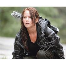 Autógrafo De Jennifer Lawrence Foto 8x10 Con Certificado Coa