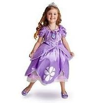 Vestido De Princesita Sofia Original De Disney Talla 4