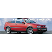 Capota Golf Cabrio 95-2000 Originales