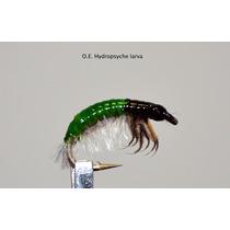 Moscas Para Pesca Caddis Hydropsyche Larva