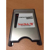 Pcmcia / Lector De Memorias Compact Flash Sandisk