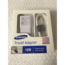 Cargador Rapido Samsung Original Galaxy Note 4 Caja Sellada