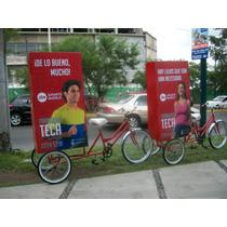 Publicidad Movil Renta De Bicicletas Con Publicidad