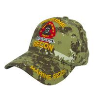 Gorra Us Marines Deadly Pixelado Desierto, Bordado Directo