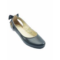 Anel De Baez Ballerina Economico Negro - 1129an52212115