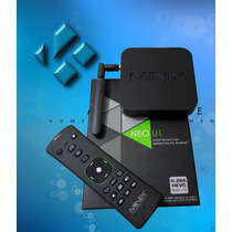 Android Tv Minix Neo U1 Transforma Tu Pantalla A Smart Tv