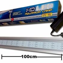Lampara Led 100cm Acuario Plantas Acuaticas 17w Aluminio Co2