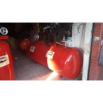 Compresor De Aire 10 Hp 4 Pistones Trifasico Tanque 1000 Lts