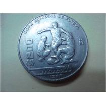 Moneda De $200.00 Conmemorativa De Copa De Futbol Mexico 86