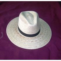Sombrero Cholo De Cinta De Palma, Tipo Sahuayo