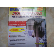 Filtro Cascada 100-200l, 600l/h P/agua Dulce/salada