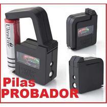 Probador Universal De Pilas Baterias Aa, Aaa, C, D Y 9v