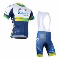 Uniforme Ciclismo Orica 2015 Jersey + Short Bib, Bici, Ruta