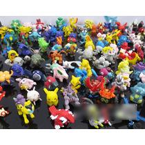 Pokemon 144 Figuras Lote Diferentes Pikachu Coleccion Azar