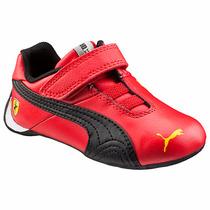 Tenis Ferrari Scuderia Future Cat 10v Para Bebe Puma 358619