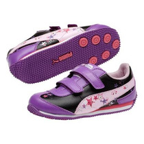 Tenis Puma Speeder Girls Light-up Niña Originales, Rema