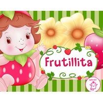 Kit Imprimible Frutillita Rosita Fresita Bebe Tarjetas Y Mas