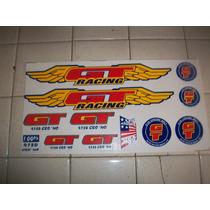 Juego De Calcamonias Tipo , Bmx, Gt,racing