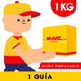 Guia Prepagada Dia Siguiente Dhl 1kg +recoleccion Gratis