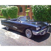 Thunderbird 1959 Convertible Original Placas Antiguo Dictame