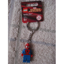 Spiderman El Hombre Araña Llavero De Lego
