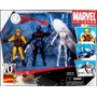 Marvel Universe Three Pack Daredevil, Silver Surfer, Ironman