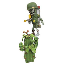 Plants Vs Zombies Acción Figura 2 Pack - Cactus Chile Y Sold