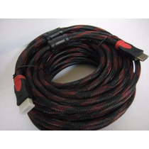 Cable Hdmi 20 Metros Fullhd 1080p Ps3 Xbox 360 Laptop Pc Led