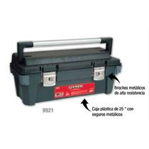 Caja Portaherramienta Plastica Con Broches Metalicos Urrea