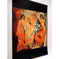 Colección De 6 Pinturas Obras De Arte (picasso, Dali, Monet)